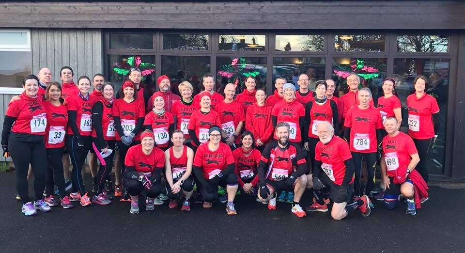 Bumper Black Dog Turnout at Wymondham 10K